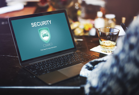 private insurance: Security Insurance Privacy Policy Private Protection Concept