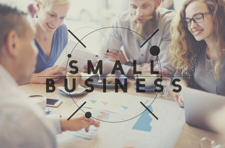 niche: Small Business Niche Ownership Start-up Ideas Concept Stock Photo