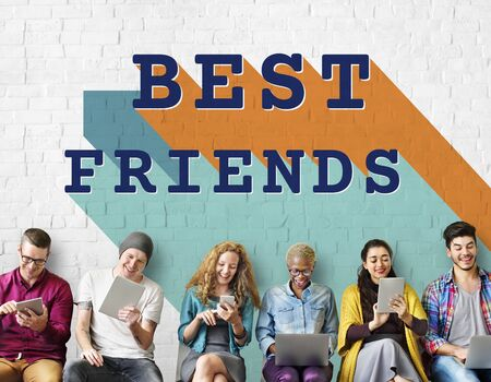 fellowship: Best Friends Relationship Together Connection Fellowship Concept