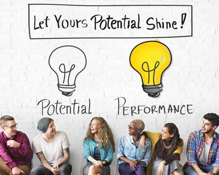 Potentieel prestatievermogen Motivatie Vaardigheidsconcept