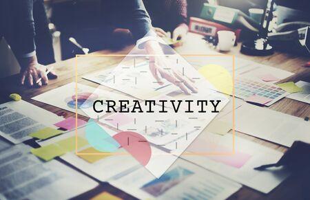 creativity: Creativity Ideas Imagination Innovation Concept Stock Photo