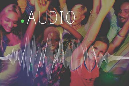Audio Listening Noise Sound Wave Technology Concept