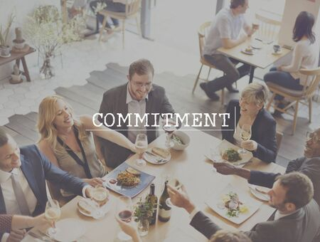 promise: Commitment Agreement Arrangement Promise Obligation Concept
