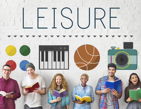 freetime activity: Leisure Entertainment Hobby Activity Free-time Concept Stock Photo
