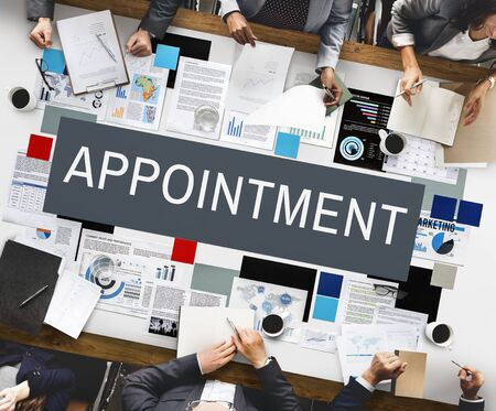 appointment: Appointment Calendar Meeting Schedule Concept