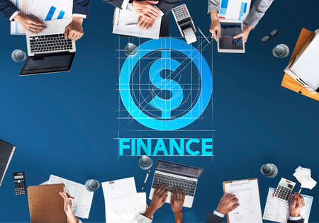 additional compensation: Finance Business Money People Graphic Concept Stock Photo