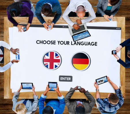 the view option: Language Dictionary English German Concept