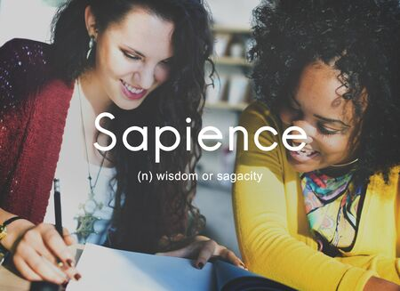 crafty: Sapience Highly Educated People Graphic Concept Stock Photo