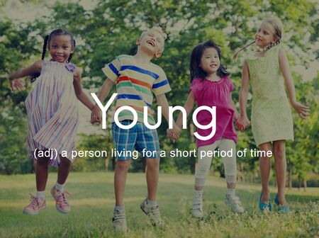 progeny: Teenybopper Young Children Youth Kids Concept