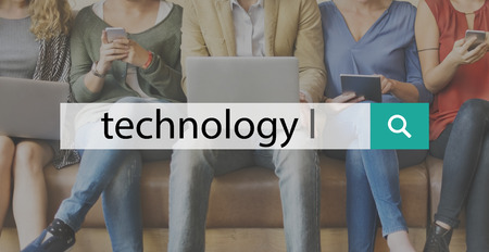 innovative concept: Technology Innovation Digital Evolution Innovative Concept Stock Photo