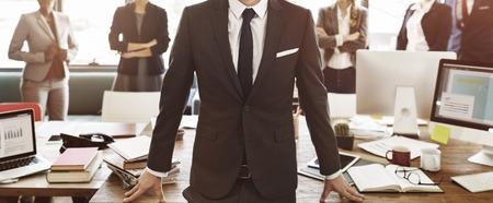 Business Collaboration Colleagues Team Corporate Concept Banque d'images