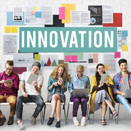 creativity: Innovation Creativity Development Futuristic Concept