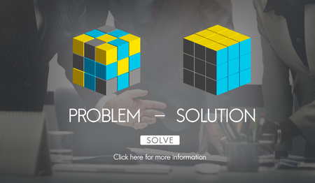 Problem Solution Strategy Trouble Difficulty Ideas Concept
