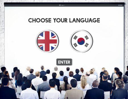 jargon: Korean English Language Communication Global Concept