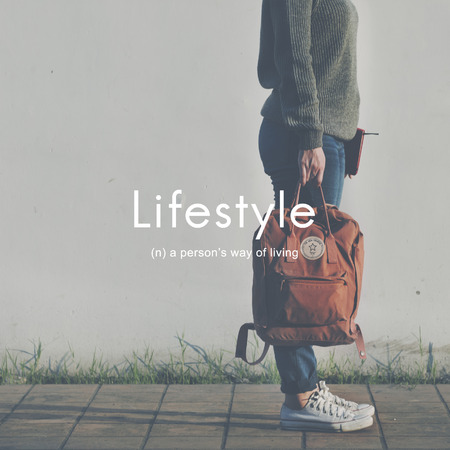 a situation alone: Lifestyle Way of Life Hobbies Interests Passion Concept