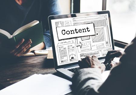 to analyze: Content Blog Create Analyze Optimize Concept