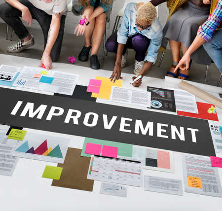 better: Improve Innovation Progress Reform Better Concept Stock Photo