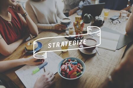 strategize: Strategize Progress Solution Vision Information Concept