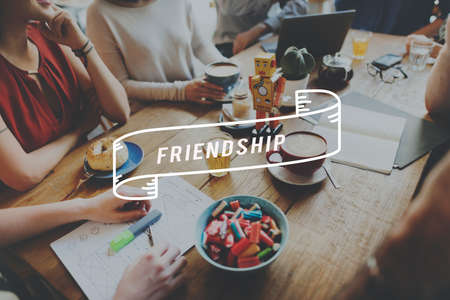 trato amable: Friendship Connection Relationship Together Concept