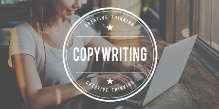copywriting: CopyWriting Advertisement Commercial Marketing Business Concept