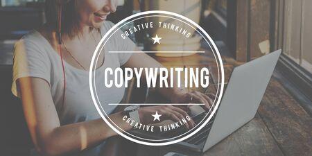 copywriting: CopyWriting Advertisement Commercial Marketing Business Concept