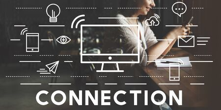 bond: Connection Connected Networking Social Bond Concept