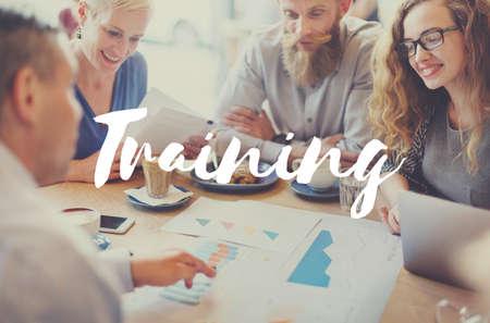 aspirations: Training Ability Aspirations Coaching Education Concept Stock Photo