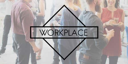 bureaucratic: Workspace Workplace Building Commercial Room Concept