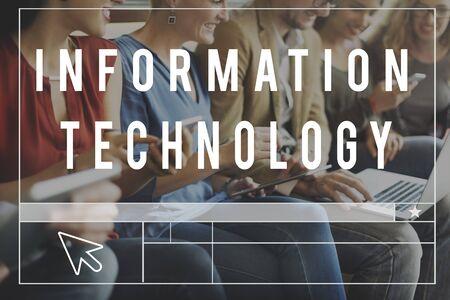 socialise: Technology Online Media Communication Networking Concept