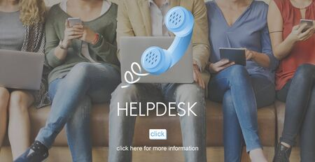 help: Help Desk Helping Assistance Advice Support Concept Stock Photo