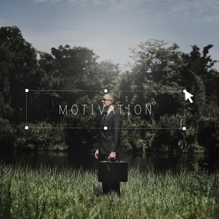 enthusiasm: Motivation Encourage Inspiration Enthusiasm Stimulus Concept Stock Photo