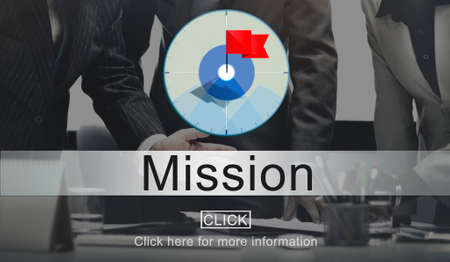 goal oriented: Goals Aim Purpose Mission Target Concept Stock Photo