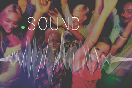 Sound Music Wave Melody Graphic Concept