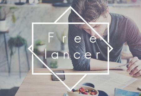freelance: Freelance Work Extra Gig Concept