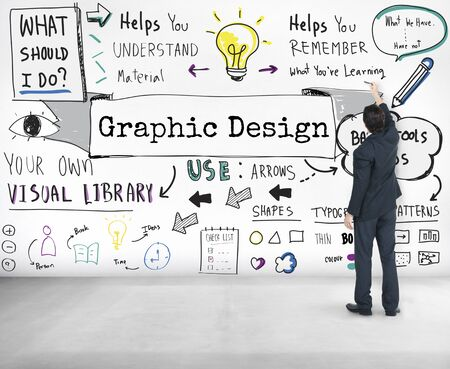 objective: Design Graphic Creative Ideas Objective Planning Concept