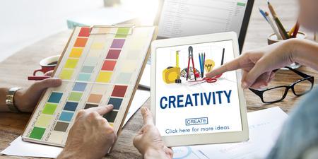 create: Creativity Ideas Equipment Create Concept