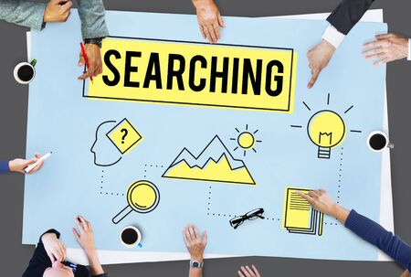 experimentation: Explore Explorer Research Searching Study Concept