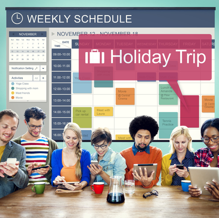 Holiday Trip Vacation Traveling Adventure Concept Stock Photo
