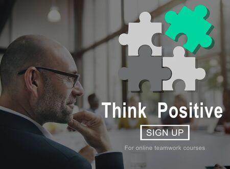 optimismo: Que la actitud positiva inspirar optimismo concepto de elecci�n