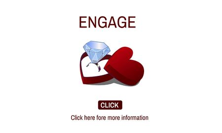 jewel box: Engage Engagement Ring Couple Love Concept
