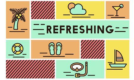 renew: Refreshing Refreshment Renew Rethink Restart Concept