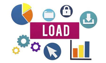 downloading: Load Downloading Online Internet Concept