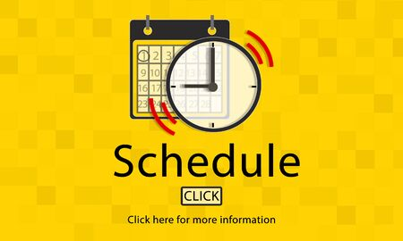 notice of: Notice Schedule Notes Imporant Task Concept Stock Photo