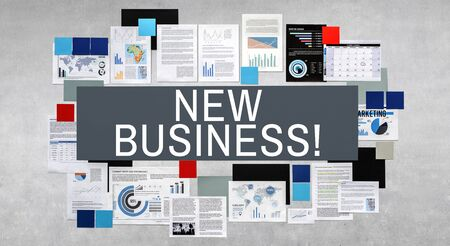ides: New Business Planning Fresh Ides Objective Concept Stock Photo