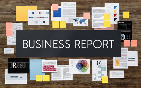 resulting: Business Report News Article Research Resulting Concept