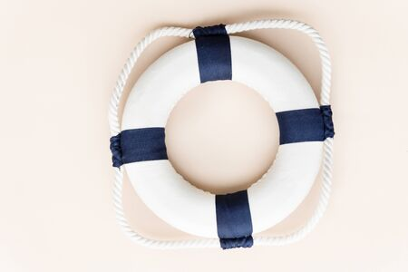 lifesaving: Summer Lifesaving Tube Beach Concept