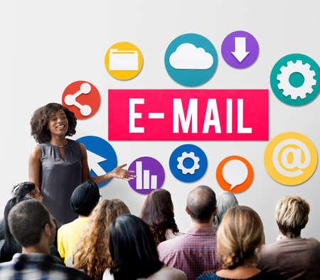 correspondence: E-mail Correspondence Communication Digital Online Concept