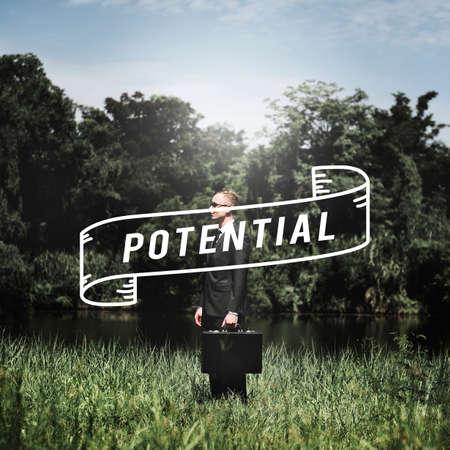 Potential Ability Capacity Development Motivation Concept Stock Photo