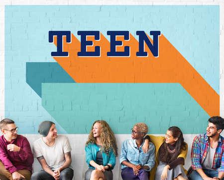 adolescence: La adolescencia adolescente estilo de vida joven juventud Concepto Cultura Foto de archivo