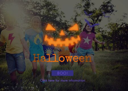 jack o  lantern: Jack O Lantern Halloween Symbol Concept Stock Photo